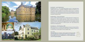 Auf vier Seiten werden in der Imagebroschüre die Burgen von Wachtberg vorgestellt.