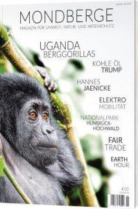 Das Mondberge-Magazin sensibilisiert für die Schönheiten der Erde und seiner tieriwschen Bewohner.
