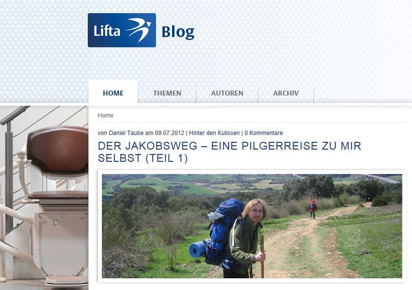 Treppenlifthersteller Lifta - moderne Kommunikation im Blog