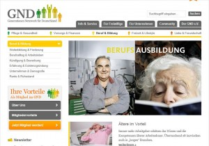 Blogbeitrage zum Leben und Lernen im Alter für das Generationennetzwerk für Deutschland