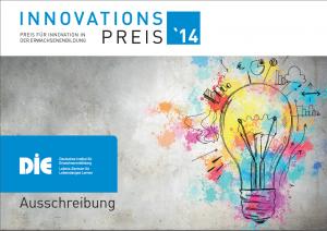Broschüre Innovationspreis des DIE: Konzeption und Redaktion
